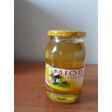 Miód Pszczeli  Akacjowy   Sloik 0.9l 1.3 kg