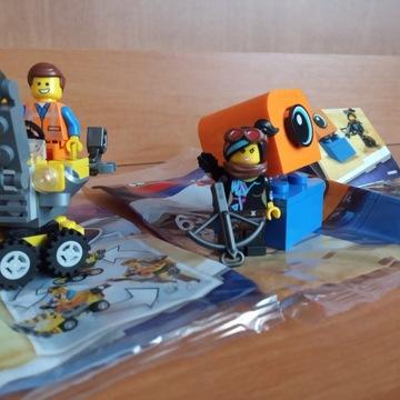 THE LEGO MOVIE 2 zestaw 30529 Emmet + 30527 Lucy