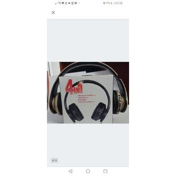 Słuchawki Andoer bezprzewodowe Bluetooth + FM