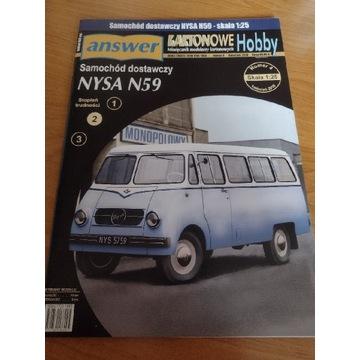 Model kartonowy Answer Nysa N 59