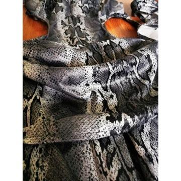 Zmysłowy kostium kobry do tańca brzucha - wężowy