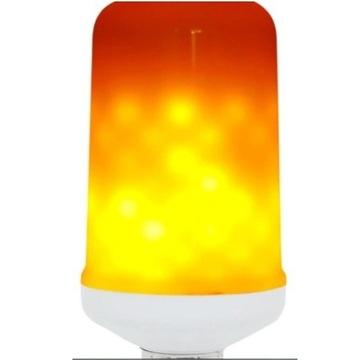 -65% Żarówka lampa LED świeci płonie jak ogień E27