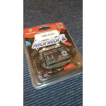 Monitor akumulatora samochodowego bluetooth