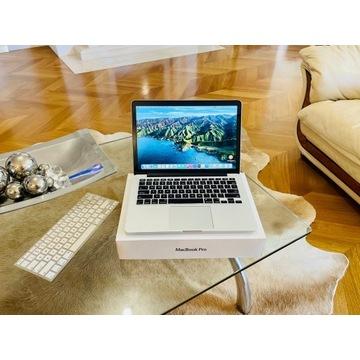 Jak Nowy! MacBook Pro 13! Retina! Piękny! Zestaw!
