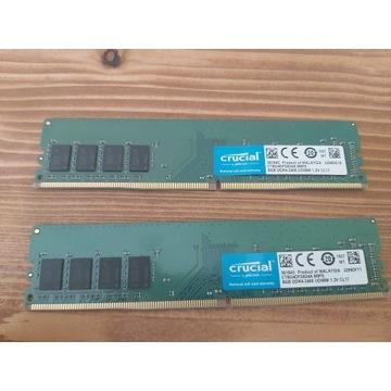 DDR4 16GB 2400 CL17 Crucial