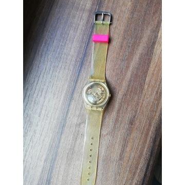 Zegarek Swatch transparenty szkieletor oryginalny
