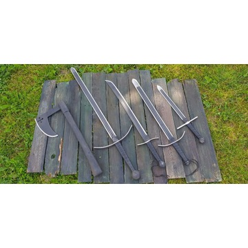 Super komplet broni średniowiecznej