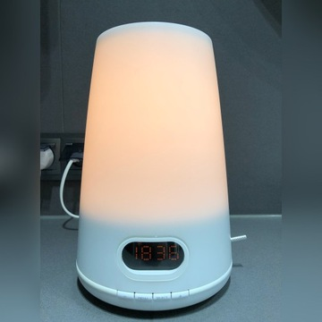 Philips lampka nocna radiobudzik budzenie światłem
