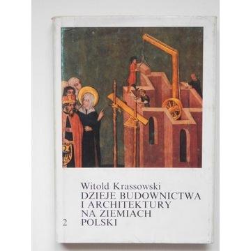 Dzieje budownictwa i architektury 2 i 3 Krassowski