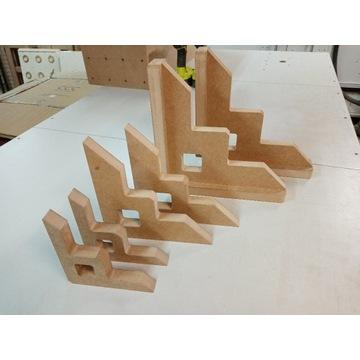 Zestaw kątowników stolarskich DIY