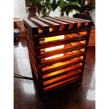 Lampka nocna ręcznie robiona, fajna na prezent :)