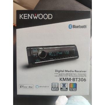 Radio samochodowe Kenwood KMM BT306 Bluetooth
