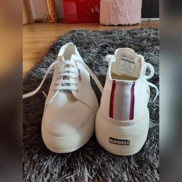 sneakersy buty trampki Superga 40 platforma
