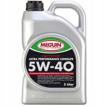 Meguin Ultra Performance Longlife 5W40 5l