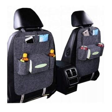Organizer samochodowy filc ochraniacz na fotel
