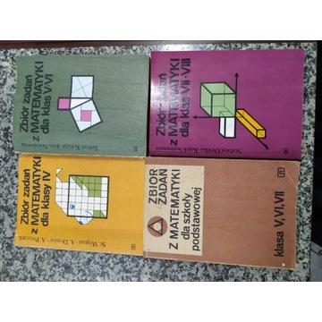 Zbiór zadań z matematyki 4-8
