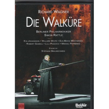 2 DVD Wagner WALKURE Rattle, Westbroek, Gambill