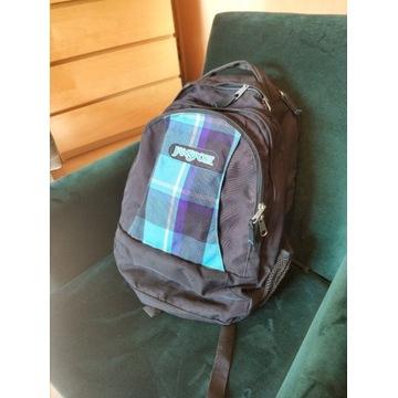 Duży pakowny plecak szkolny miejski JanSPORT