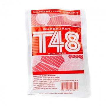 Drożdże gorzelnicze T48 do wódek, zacierów
