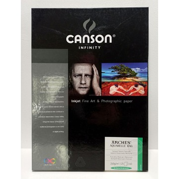 CANSON INFINITY Arches Aquarelle Rag 240g A3