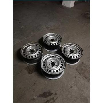 Felgi stalowe Mercedes 15 5x112 66.5 6.5J ET49