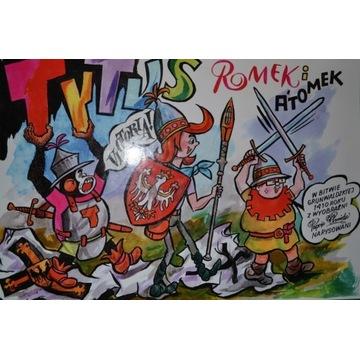 Tytus Romek i A'Tomek w Bitwie Grunwaldzkiej 1410