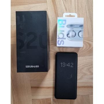 Samsung Galaxy S20 Ultra 5G Gw.Fakt+Buds+Etui led