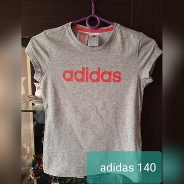 Bluzka adidas 140 cm