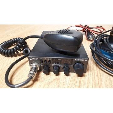 CB Radio MTech Legend II + antena