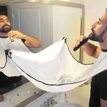 Nowy Fartuch do strzyżenia brody, zarostu, wąsa