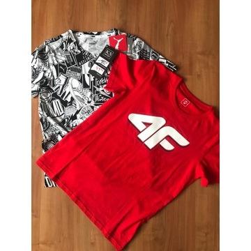 Koszulki Puma i 4F
