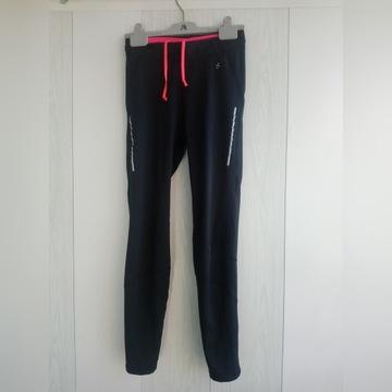 Legginsy sportowe H&M, rozmiar S, czarne