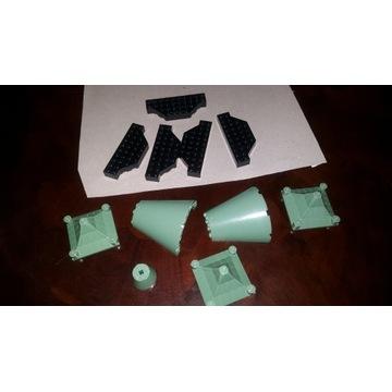 LEGO HARRY POTTER elementy (daszki sand green)