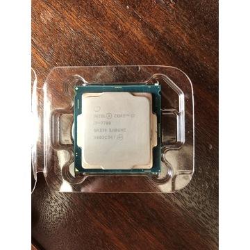 Procesor Intel Core I7 7700 3.6 GHz Uszkodzony