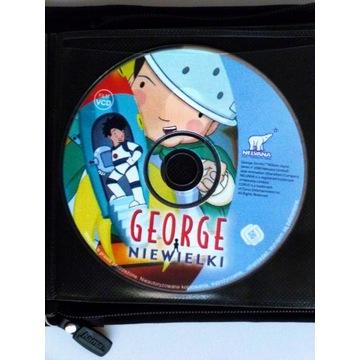Płyta VCD dla dzieci bajka George Niewielki