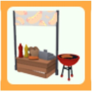 Roblox Adopt Me Hot-Dog Stand