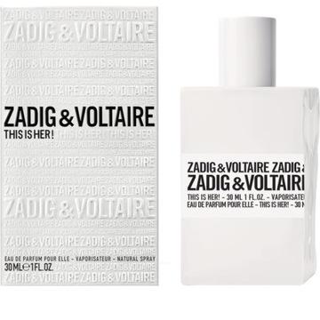 Prezent perfumy 50 ml Zadig Voltaire This is Her