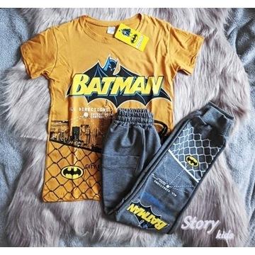 Komplet Super Bohater Spodnie + Tshirt Roz. 146!