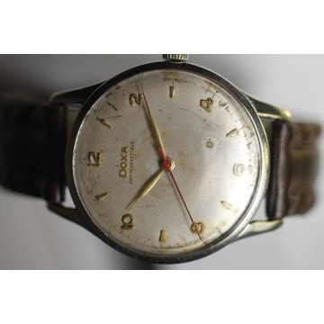 zegarek DOXA 17 jewels SWISS DUŻY 37MM