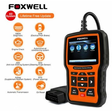 Foxwell nt510 komputer diagnostyczny