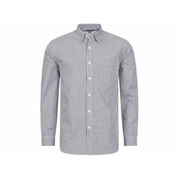 Slazenger  -biznesowa koszula męska w szarą kratke