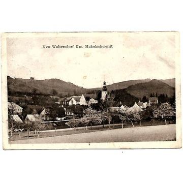 Nowy Waliszów (Neuwaltersdorf), 1930 rok.