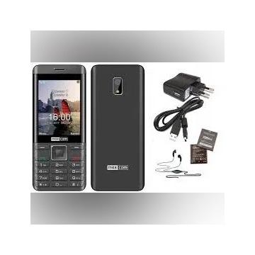 Maxcom MM236 Dual Sim Czarno-Srebrny.