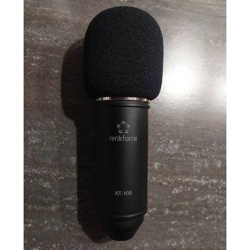Mikrofon studyjny renkforce at-100