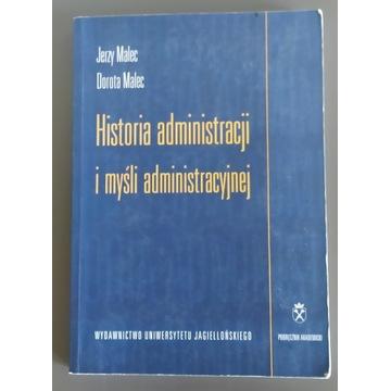 Historia administracji i myśli administracyjnej