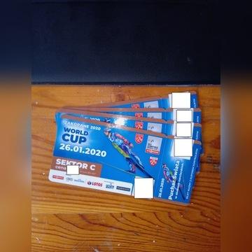 Skoki Zakopane, bilet/bilety, 26.01.2020, sektor C