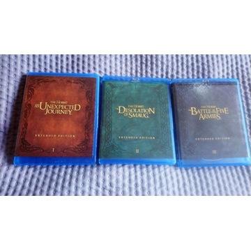 The Hobbit Trylogia edycja rozszerzona 12xBlu Ray