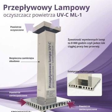 Sterylizator powietrza , Lampa UV-C