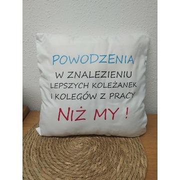 Poduszka dla kolegi koleżanki z pracy