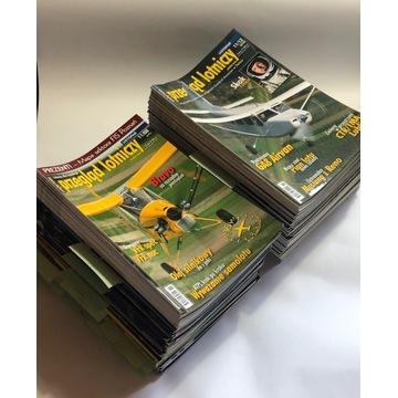 Przegląd lotniczy magazyn 102 szt. 1997-2012 r